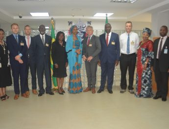 World Bank Consultants, MTBS Visits NPA
