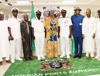 Hadiza Reiterates NPA's Commitment Towards Safeguarding Nigerian Territorial Waters