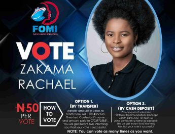 Rachael, Christabel, Hossana Topping FOMI Voting Table After Week 2