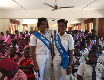 What FOMI Queen, Rachael Told School Girls During Girls-Go-To-Sea Campaign