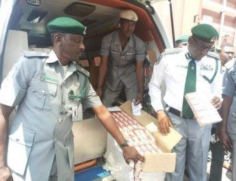Apapa Customs Foils Theft of  N2.8m Tramadol From LPC