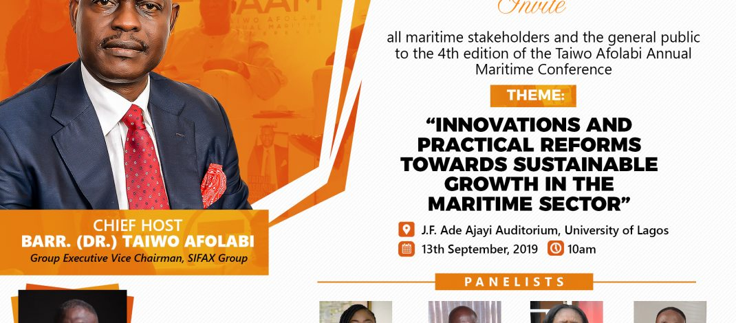 Shasore Leads Discussions At Taiwo Afolabi Maritime Conference
