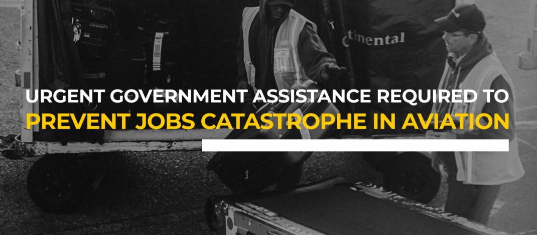 Airlines, Aviation Workers Call for Urgent Government Assistance To Prevent Jobs Catastrophe