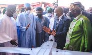 Picture Of Buhari Launching Deep Blue Project